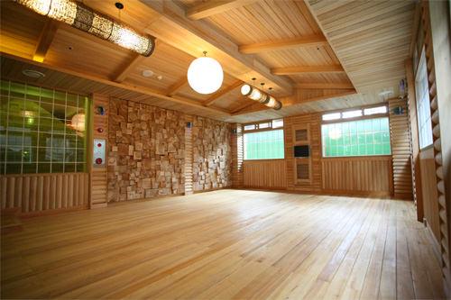 ヒノキ森林浴部屋