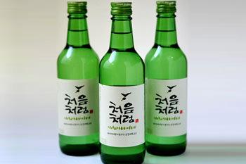 韓国焼酎(1本):213kcal