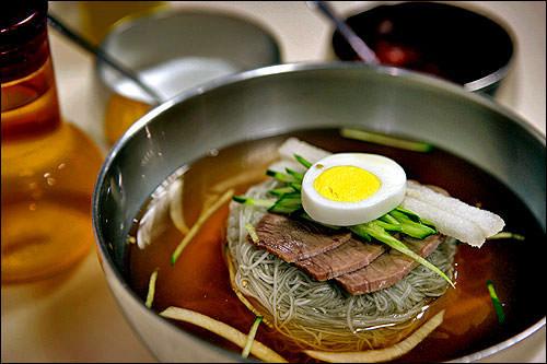 水冷麺(1人前):510kcal
