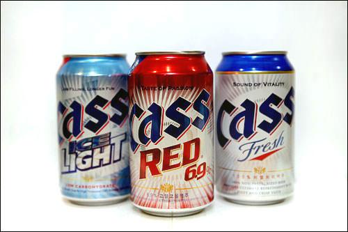 韓国ビール(1杯):100kcal