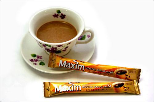 スティックコーヒー(1袋):75kcal