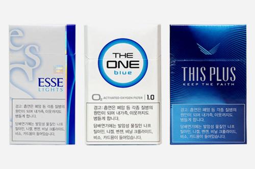 2015年1月より2,000ウォン値上がり日本とほぼ変わらない価格帯に(韓国のタバコ文化)