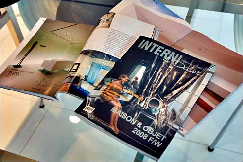 韓国の有名なインテリア雑誌「INTERNI」でも紹介された