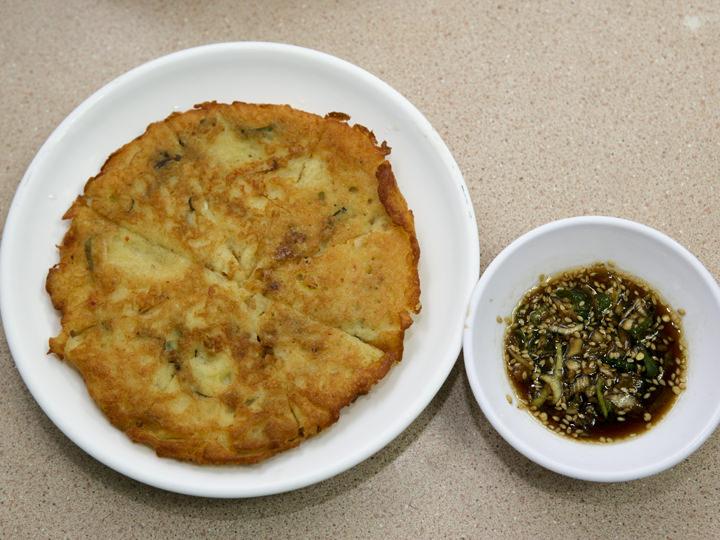 緑豆チヂミ