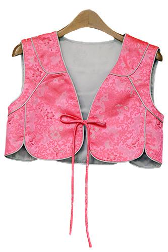 本来チョゴリ(韓服の上着)の上に着るチョッキがボレロに。(228,000ウォン)