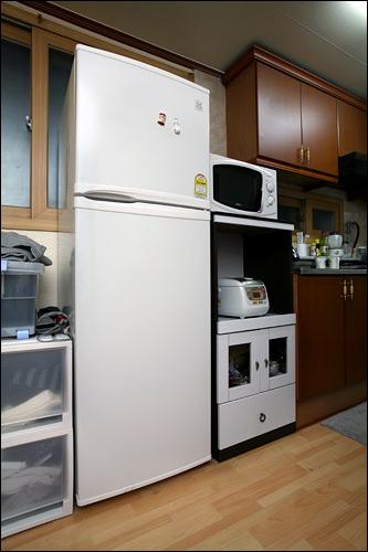 冷蔵庫も新品