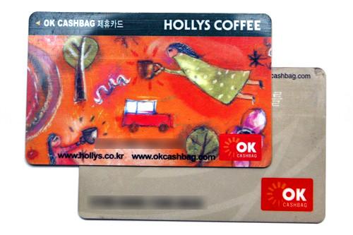 OKマークが目印。提携カードの作成は加盟店で