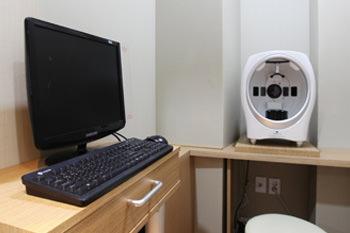 皮膚診断撮影室
