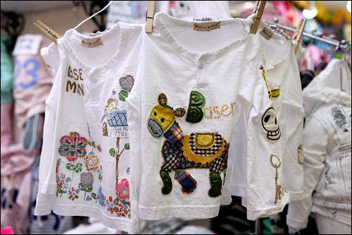 丸首長袖Tシャツ15,000ウォン