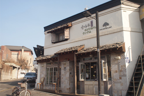 三清洞店写真提供:ウンナム