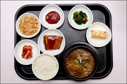 韓国料理(市場風スープ&ご飯)