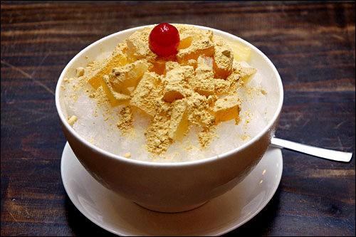 インサドンサラムドゥル松花(ソンファ)茶に使われるほんのりきな粉風味の松花粉パウダーが決め手