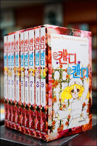 「キャンディ・キャンディ」の海賊版は、作者欄に「NAKAYOSI」とだけ書かれている
