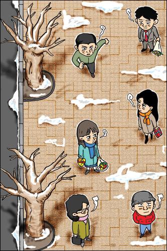 それぞれのカップルの物語で人気となった「純情漫画」