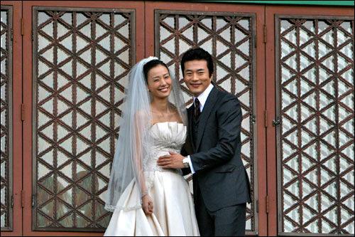 クォン・サンウ&ソン・テヨン夫婦