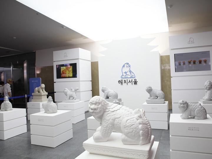 ソウル市のシンボル「ヘチ」