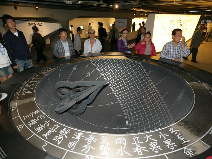 朝鮮後期の日時計「仰釜日晷(アンブイルグ)」