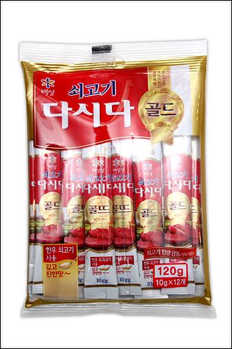 「タシダ」CJ第一製糖10g×12 2,450ウォン