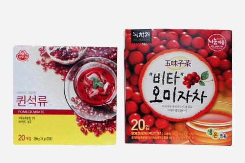 伝統茶粉末スティック20袋入り 3,400ウォン