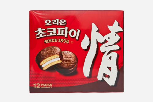 チョコパイ12個入り 3,500ウォン