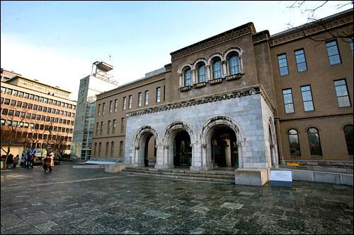 隣には「ソウル市立美術館」