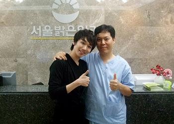 「太王四神記」にも子役で出演、ミュージカル俳優キム・ホヨン(左)