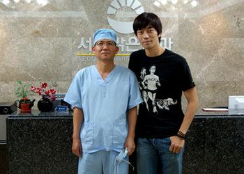 「6年目も恋愛中」に出演、シン・ソンロク(右)