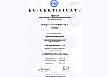 欧州評議会の認証書特徴