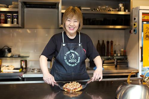 松本さんが直接目の前で調理してくれるのも魅力
