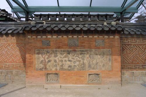 景福宮・慈慶殿の集合煙突(宝物第810号)