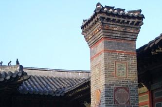 後宮や女官が暮らした楽善斎(ナッソンジェ)の煙突