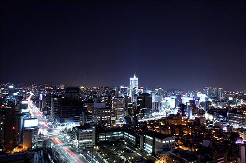 東大門の夜景