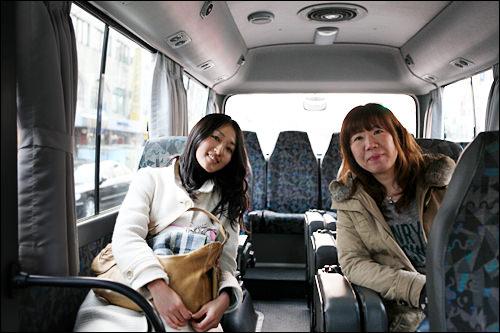 乗り心地のいいミニバス