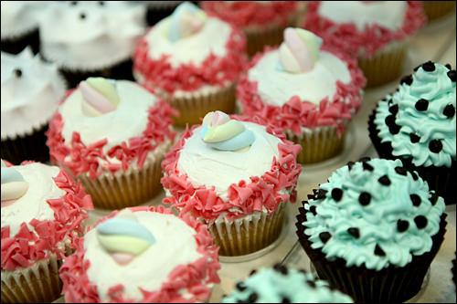 メルヘンチックなカップケーキ(goodovening)
