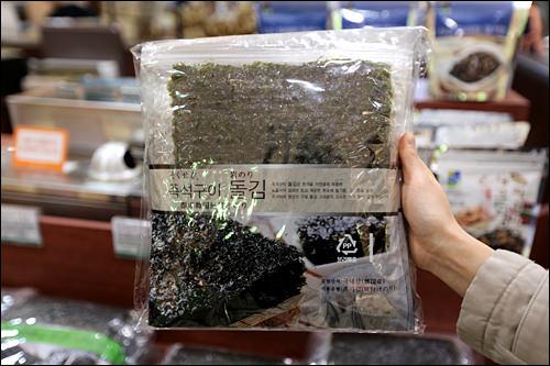 即席の岩海苔が売れ筋