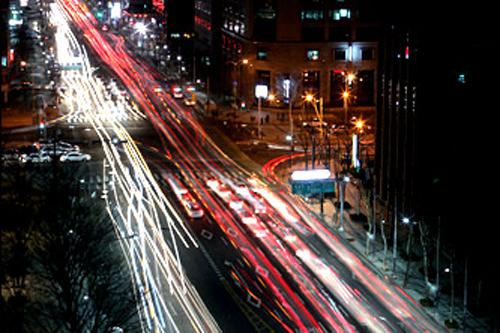 大都会ソウルの夜景