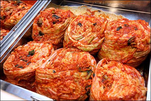 キムチは伝統的なダイエット食品