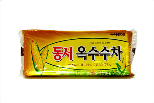 オクスス茶韓国で日常的に飲まれているオクスス茶ことトウモロコシ茶は体の余分な水分を排出させ血行を良くします。