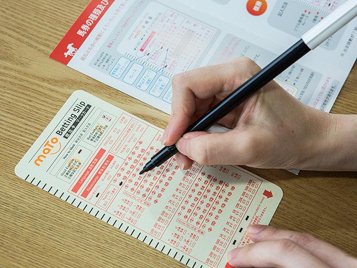 1.日本語マークカードを黒のペンで塗りつぶす
