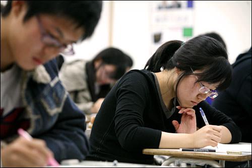 進学率の高い韓国