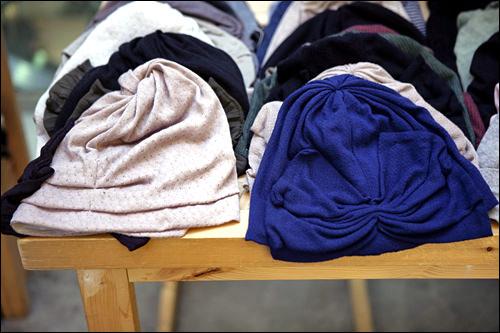 綿ニット帽 各78,000ウォン