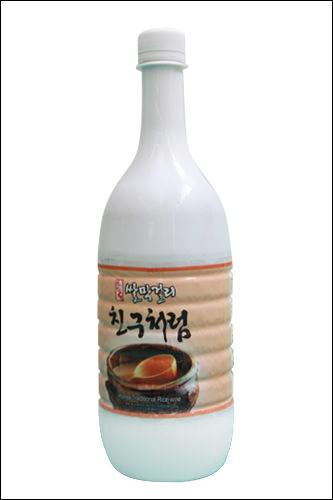 「米マッコリ チングチョロム」(3種)1,500ウォン