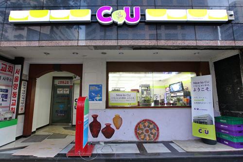 明洞大路(ミョンドンテロ)店韓国ビギナーにおすすめの駅近く!