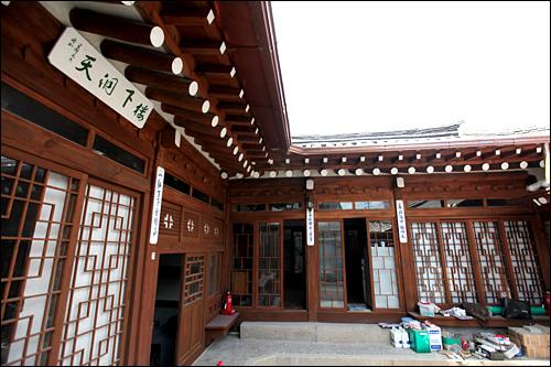 李象範家屋東洋画家、李象範の家屋と作業室。当時の家財道具も残る。補修をして文化空間として開放予定。(地図青5)