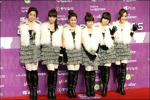 日本メジャーデビューした T-ara(写真は新メンバー加入前のもの)