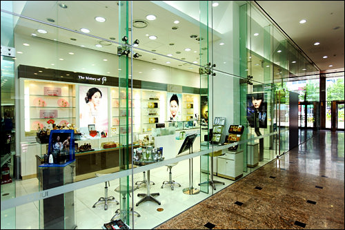 LG生活健康の化粧品ショップ
