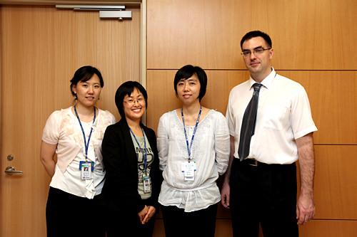 国際診療センターのスタッフ