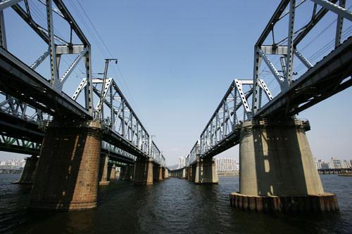 漢江鉄橋(ハンガンチョルギョ)