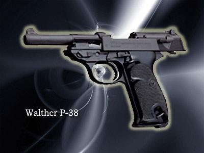 WALTHER P38口径:9mm製造国:ドイツ第二次世界大戦時、ドイツの将校たちが使用。ソウル市内で扱っているのはここだけ。