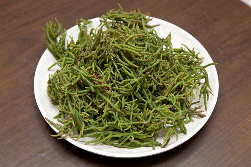 タレに使用する韓方材料と海草